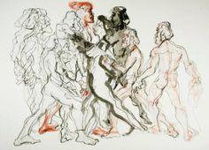 "Saatchi Art Artist Kiril Hristov; Drawing, ""Work in progress #4"" #art"