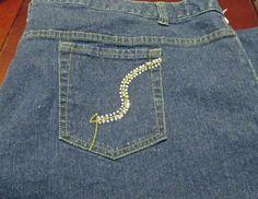Penningtons Jeans Women Pants Plus Size W28 Bling | eBay