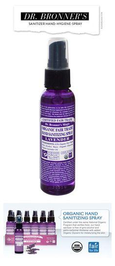 Dr. Bronner's Sanitizer Hand-Hygiene-Spray