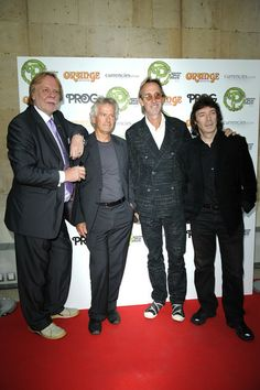 Mike Rutherford Rick Wakeman Photos - (L-R) Rick Wakeman, Tony Banks, Mike Rutherford and Steve Hackett attends the Progressive Music Awards at Kew Gardens on September 2012 in London, England. Yes Music, Mike Rutherford, Steve Hackett, Rick Wakeman, Work Music, Yes Band, Peter Gabriel, Music Heals, Progressive Rock