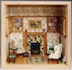 The 26 Best Miniatures In The Media Images On Pinterest Dollhouses