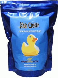 Bentonite clay - Kids Clear Detoxifying Clay Baths (UK & Europe)