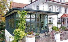 Stadtvilla modern mit anbau  DAS MEISTERSTÜCK Kaffeemühlenhaus in begehrter Lage | Anbau ...