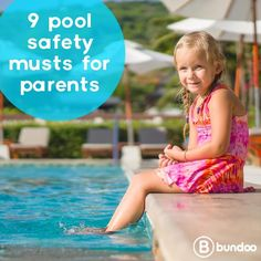 Pools are great summer fun! But drowning is a real risk. Know how to keep your kids safe with these 9 safety tips.