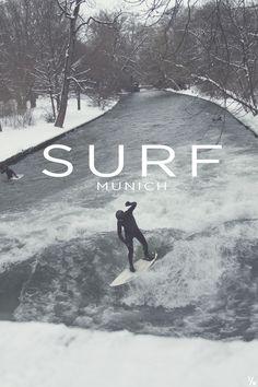 River Surfing, Munich Germany