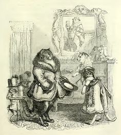 In The Public and Private Life of Animals (1867) J.J. Grandville did not just antropomorphise animals, he peopled situations with them. This resulted in a familiar picture, yet with an uncanny look to it.