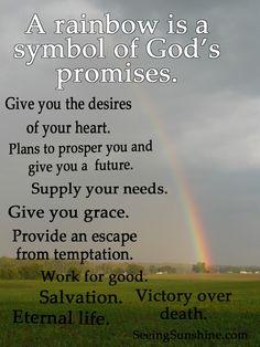 261 Best Rainbow God S Promise Images Bible Scriptures Bible