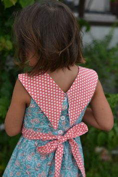 Girl's Sewing Dress Patterns