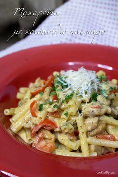 Food Decoration, Pasta Salad, Spaghetti, Food And Drink, Cooking, Ethnic Recipes, Sweet, Food Ideas, Bakken