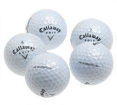 Callaway Warbird Recycled Golf Balls (36 Pack) - http://www.closeoutball.com/golf-balls-closeout-sale/callaway-warbird-recycled-golf-balls-36-pack-2/