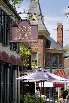 208 Talbot - St. Michaels, MD -- characters from LETTING GO: The Maryland Shores (women's fiction/contemporary romance) could find themselves here!
