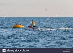 Download this stock image: Aquabike, Sochi, Russia. - GTR3TD from Alamy's…