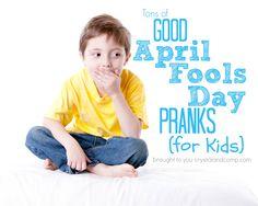 good april fools day pranks