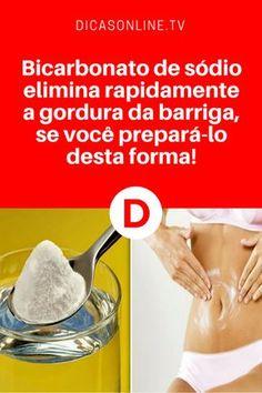 Bicarbonato de sódio para perder peso | Nós ensinamos a fórmula... Leia e aprenda ↓ ↓ ↓