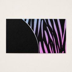 Tiger Stripes Print Wild Safari Business Cards - animal gift ideas animals and pets diy customize