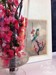 Pretty Glittered Diy Art - Works with Any Image #diyart #diyhomedecoratingideas