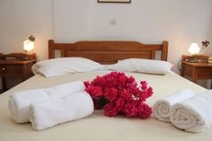 Apartment in Thira, Greece. Measuring 20 square meters, this room opens to a balcony with garden or sea views. Get a good night's sleep with premium bedding.The private bathroom has a shower, as well as a  wireless Internet access keeps you connected.  Ersi villas - Studio 2...