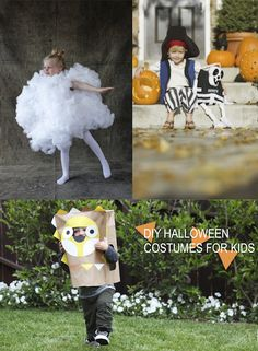 20 Awesome DIY Halloween Costumes For Kids