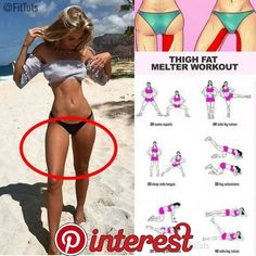 Thigh exercises are the key to slimmer thighs. You can transform big thighs and … – Fitness Thigh exercises are the key to slimmer thighs. You can transform big thighs and … – Fitness – Yoga Fitness, Fitness Workouts, Butt Workout, Fitness Tips, Health Fitness, Workout Girls, Health Exercise, Big Thigh Workout, Cardio Workouts