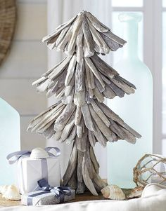 Shop Driftwood Christmas Trees! A great selection of darling driftwood trees to buy: http://www.completely-coastal.com/2015/11/driftwood-christmas-trees-shopping-guide.html