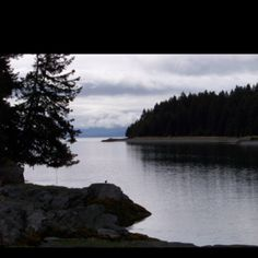 Looking out the bay towards the petroglyphs. Kodiak Island, River, Outdoor, Outdoors, Outdoor Games, The Great Outdoors, Rivers