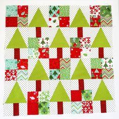 @onaw1ngandaprayer has made my #minicharmchristmas pattern. ❤️❤️I absolutely love the fabrics.