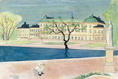 EINAR JOLIN 1890-1976, Drottingholm..