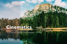 Cinematics Photoshop Actions by GOICHA on @creativemarket