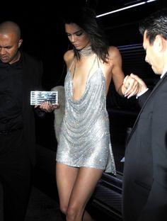 Kendall Jenner's $9,000 Swarovski Crystal Bday dress