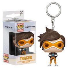 02da1b70790 Overwatch Tracer Pocket Pop! Key Chain