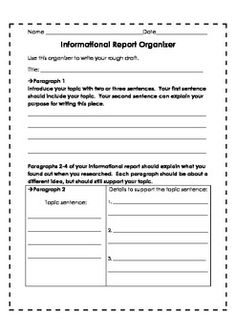 Research Report     Research Report Writing Worksheet For Rd