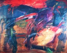 044 acrylic painting by John Warren Oakes