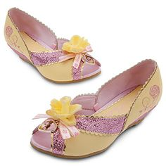 Belle Shoes for Girls   Costumes & Costume Accessories   Disney Store I wish they made these for adults!