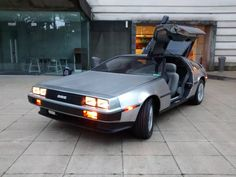 Irish students at Queens University in Belfast built an electric drivetrain for this DeLorean.