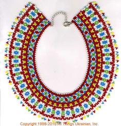 AllThingsUkrainian.com gherdany Bead Jewelry  # GIN15143