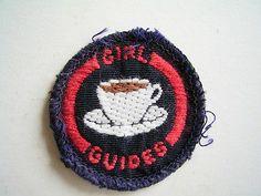Vintage Hostess badge!