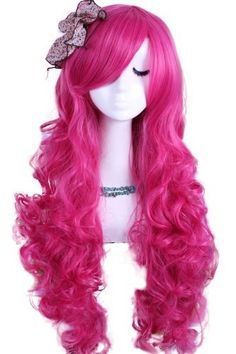 L-email 70cm Long Dark Pink My Little Pony Pinkie Pie Wavy Cosplay Wig Rw148-1 by L-email, http://www.amazon.com/dp/B00C5XBQYE/ref=cm_sw_r_pi_dp_FEKWrb07SMMCG