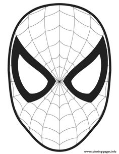 Print Spiderman Logo S4fed Coloring Pages