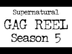 GAG REEL - Supernatural Season 5 - YouTube