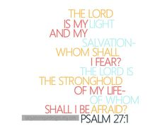 Psalm 271 Scripture Art Scripture by LatoyaMoniqueDesigns on Etsy, $6.00