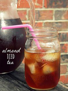 Southern Almond Iced Tea Recipe #recipe