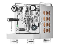 The Rocket Appartamento is a compact, conventional heat exchanger espresso machine designed for environments where space is at a premium.
