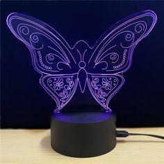 M.Sparkling TD024 Creative Animal 3D LED Lamp - COLORFUL
