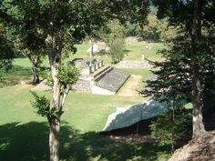 Les ruines de Copán, Copán, Honduras, Janvier 2004