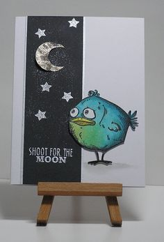 Cathys Card Spot: Shoot for the moon!