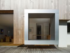 CUT AND FRAME HOUSE by Ashton Porter as Architects