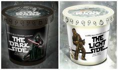 New 'Star Wars' Ice Cream Comes In Dark Side And Light Side Flavors