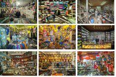 Un fotógrafo francés, Vladimir Antaki, quiere capturar el mundo de pequeñas tiendas con encanto en el mundo antes de que desaparezcan de las grandes ciudades.