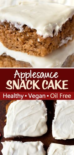 Healthy Cake, Healthy Dessert Recipes, Fruit Recipes, Apple Recipes, Cake Recipes, Healthy Snacks, Vegetarian Recipes, Gluten Free Baking, Pastries