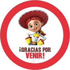 Etiqueta Jessie Toy Story Mesa de Dulces Gratis Kit Imprimible Gratis Toy Story Dulceros, Jesse Toy Story, Toy Story Party, Elmo Party, Farm Party, Fiesta Party, Toy Story Birthday, Boy Birthday, Dibujos Toy Story
